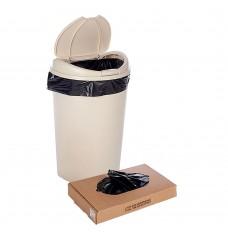 23W x 40H X 10D - Black Trash Can Liner
