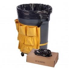 40W x 48H - Black Trash Can Liner - 40-45 Gallon