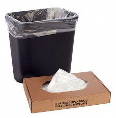 16W x 32H x 10D- Clear Trash Can Liner