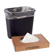 15W x 31H x 9D - Clear Trash Can Liner