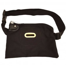 10W x 7H Black Tip Bags with Pop-up lock