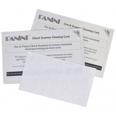 Panini Check Scanner Cleaning Card with Waffletechnology®