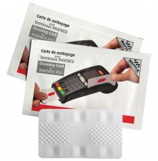 Ingenico Card Terminal Cleaning Card with Waffletechnology®