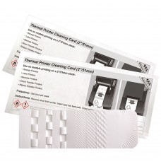 2 Inch Thermal Printer Waffletechnology® Cleaning Card