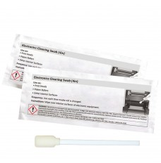 Thermal Printer Cleaning Swabs with IPA, 4 Inch