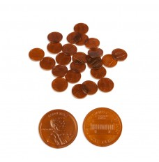 Play Money Coins - Realistic Pennies - 100/pk