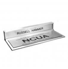 Counter Sign-Magnetic Teller Nameplate