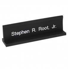 Counter Sign-Acrylic Platform Nameplate