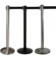 Prime Retractable Belt Posts, Set of 2