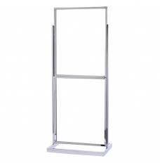 Double Chrome Poster Stand