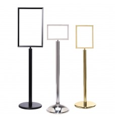 Sign Stands with Frame & Sign Protectors