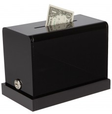 Black Counter Mount Tip Box - 7-3/4W x 6H x 4-1/4D