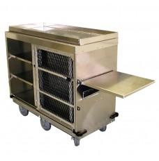 Kiosk Redemption Cart - 16 gauge alum