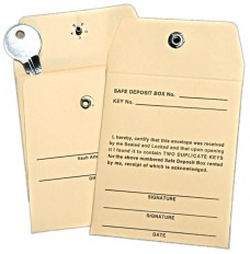 Safe Deposit Key Envelopes - Made to Order
