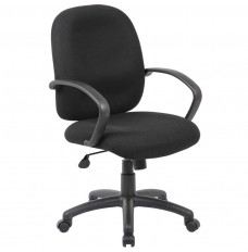 Ergonomic Budget Task Chair with Loop Arm Rests