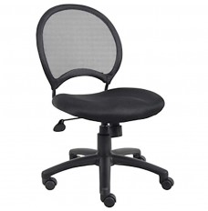 Black Mesh-Back Ergonomic Chair