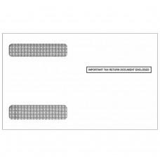 4up W-2 Double Window Envelopes - Self Seal