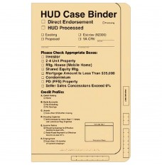 HUD Case Binder (Manila)