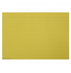 RULED CANARY SHEET 50 sheets/pad, 12 pads/per poly = PK