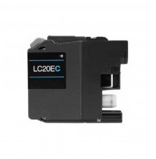 Brother High Yield Ink Cartridge - Cyan - Compatible - OEM LC20EC