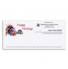 Happy Holidays Teller Receipt