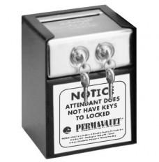 Medeco Dual Lock Drop Box - 6 in W x 7-1/2 in H x 6 in D