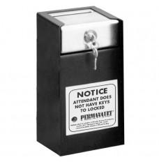 Medeco Single Lock Drop Box - 6 in W x 11-1/2 in H x 6 in D