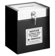 Medeco Single Lock Drop Box - 10 in W x 11-1/2 in H x 8 in D