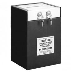 Medeco Dual Lock Drop Box - 10 in W x 14-1/2 in H x 8 in D