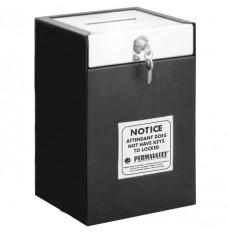 Medeco Single Lock Drop Box - 10 in W x 14-1/2 in H x 8 in D