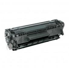 HP High Yield Toner Cartridge - Black - Compatible - OEM Q2612A