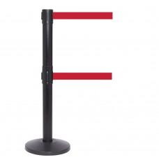 QueuePro 250 Retractable Dual Belt Posts