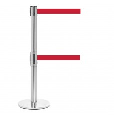 QueueMaster 550 Retractable Dual Belt Posts - Set of 2
