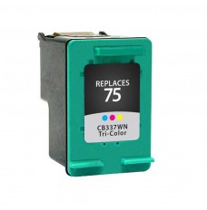 HP 75 Compatible (color) Ink Cartridge, OEM CB337WN