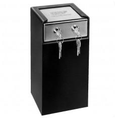 Medeco Dual Lock Drop Box - 6 in W x 11-1/2 in H x 6 in D