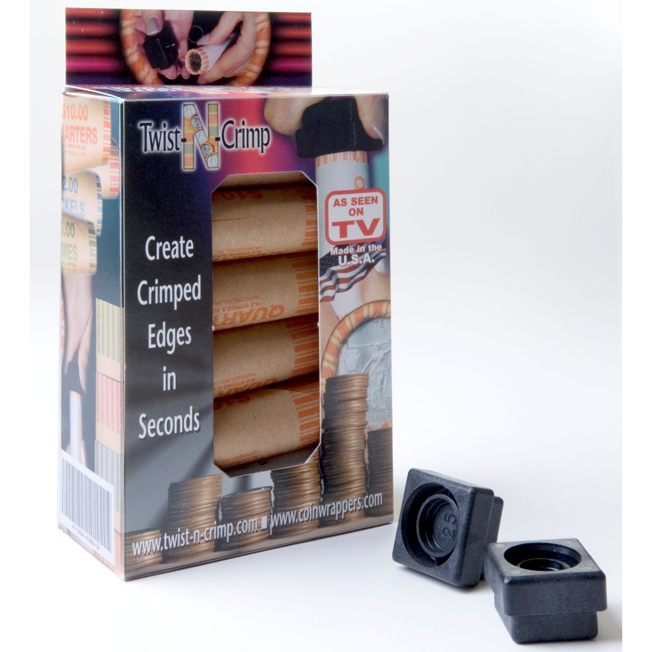 Twist-N-Crimp Cartridge Coin Wrapper Kit