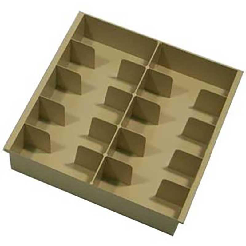 Fenco Plastic Money Trays - 10 Compartments
