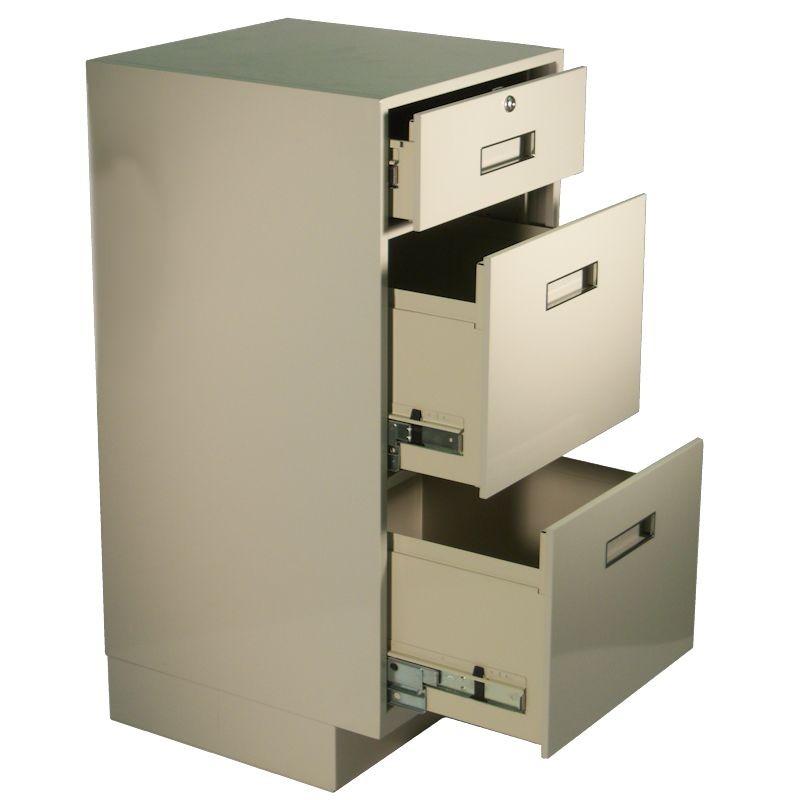 Fenco SIlverline Pedestal, (1) Box Drawer, (2) Legal Drawers