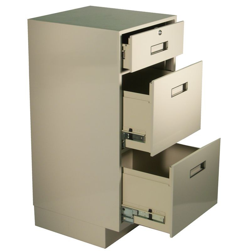 Fenco Teller Pedestal, (1) Locking Drawer & (2) Legal Drawers