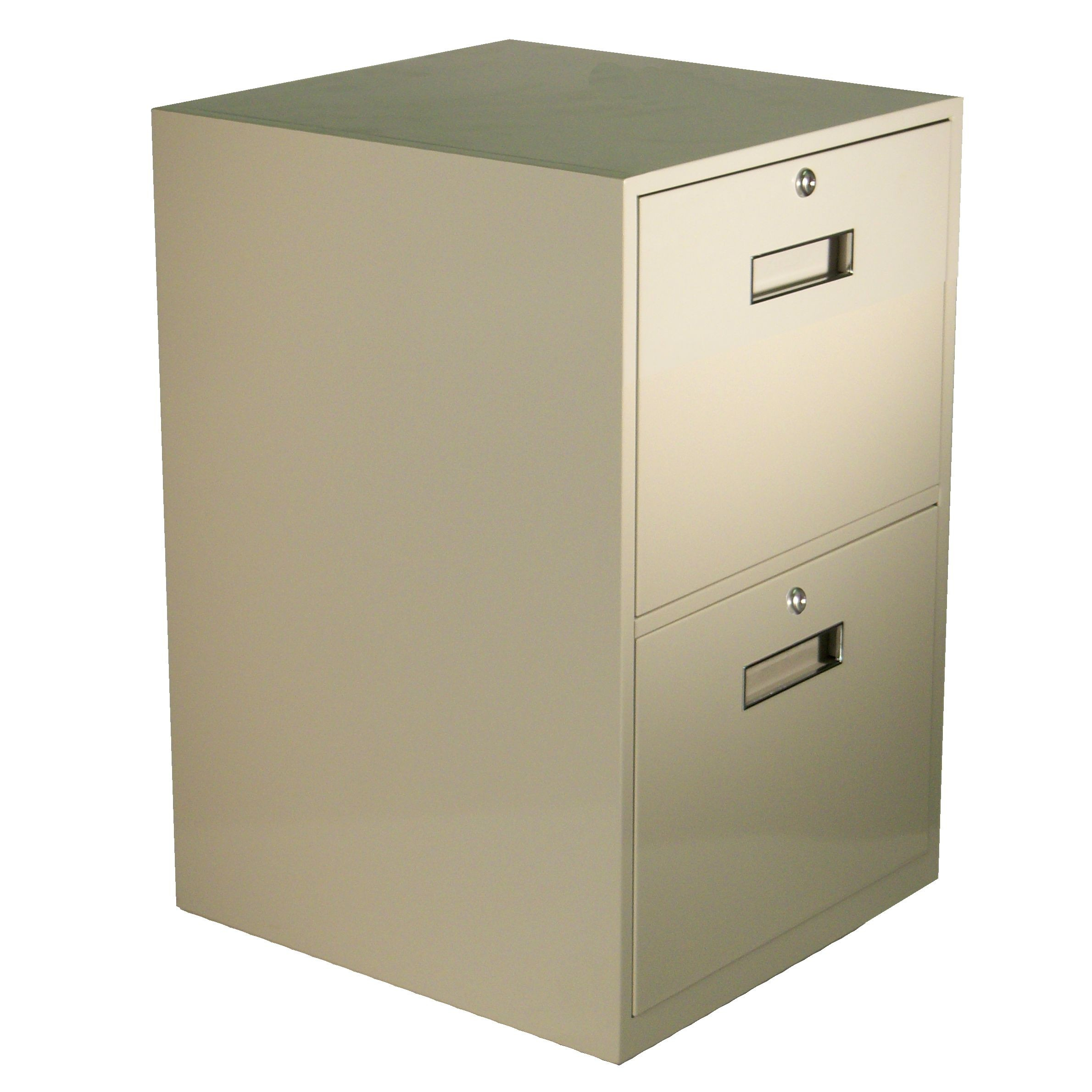Fenco Silverline Lowboy Pedestal, (2) Legal Drawers