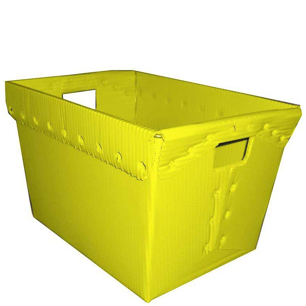 Large Corrugated Plastic Mail Trays - 18-1/4W x 13-1/4H x 11-3/5D