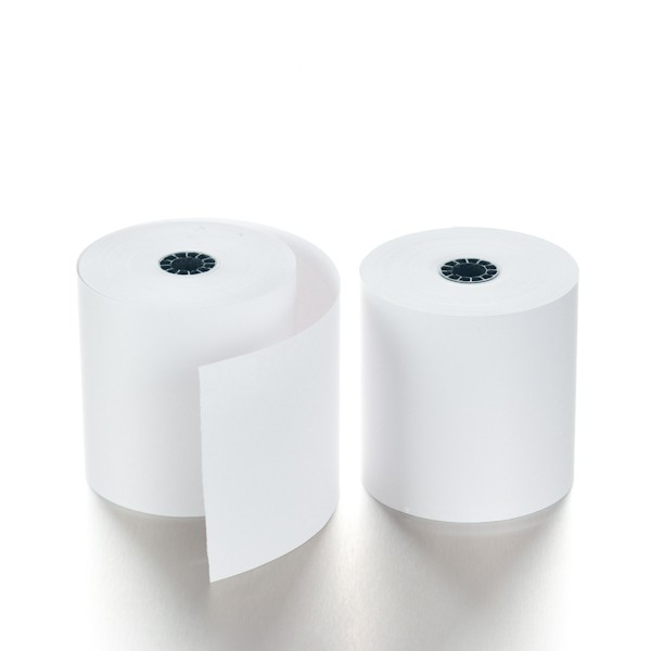 POS Paper - 3-1/4in x 165ft - Bond - Case of 50