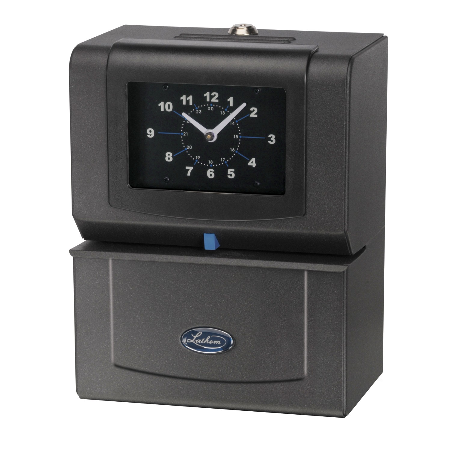 Lathem 4001 Heavy Duty Time Recorder (Prints month, date, 1-12 hours and minutes)