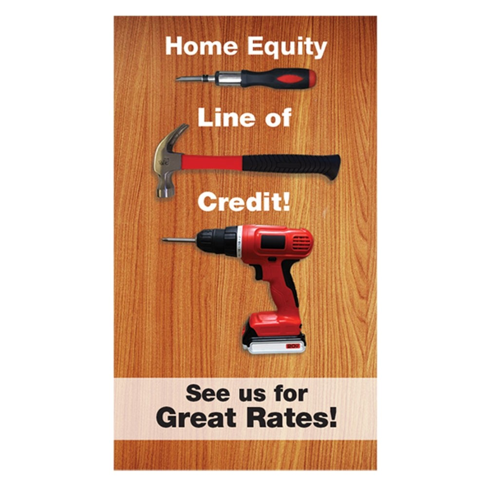 Pre-Designed Drive Up Envelope - Home Equity Line of Credit