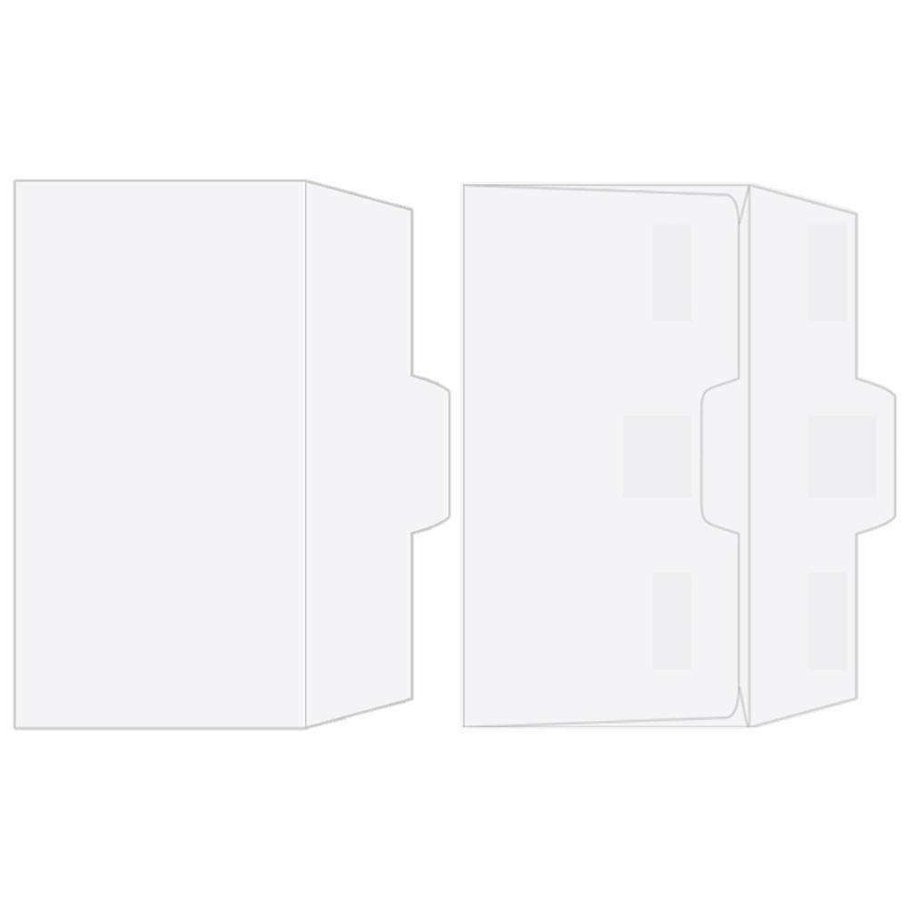 Drive-Up Envelopes - Blank Open Side - 7in x 3-5/8in