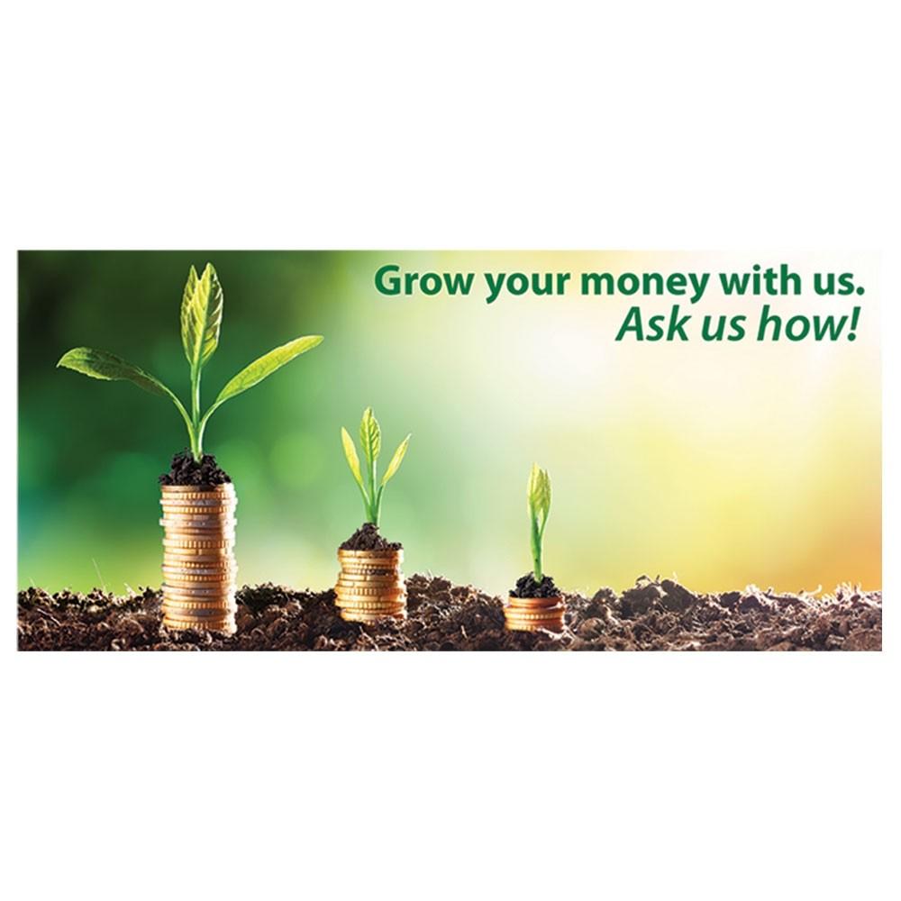 Pre-Designed Drive Up Envelope - Grow Your Money