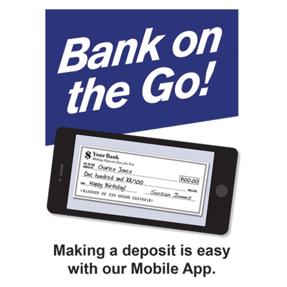 Pre-Designed Drive Up Envelope - Bank on the Go!