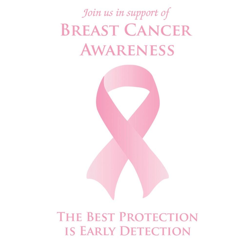 Pre-Designed Drive Up Envelope - Breast Cancer Awareness