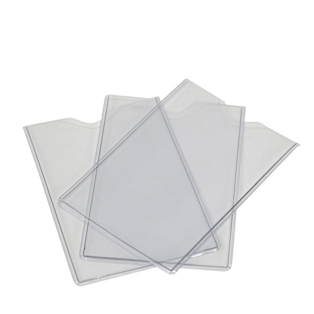 Clear Passbook Covers - 3-3/4W x 4-3/4H x .008 gauge