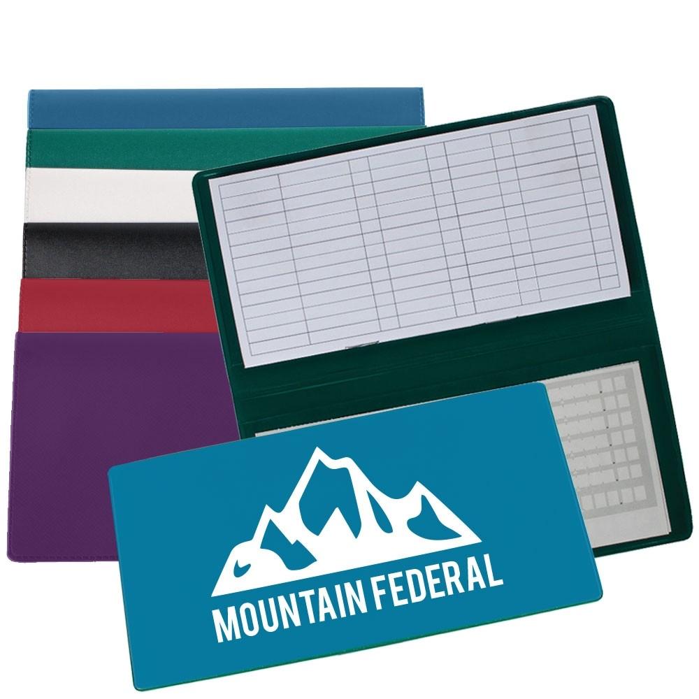 Savings Register Cover, 1 Color Custom Print